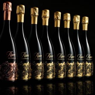 Rare Champagne Millésime 2008.