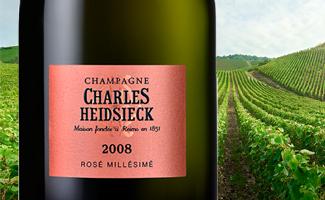New Release: Charles Heidsieck Rose Millesime 2008