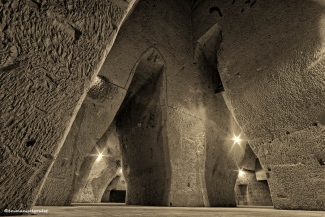 Charles Heidsieck's subterranean cathedrals called 'Crayères'