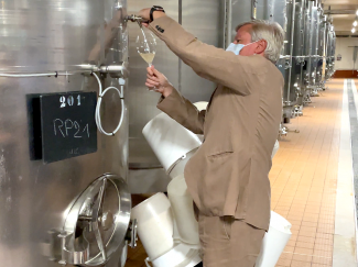 Sampling the Perpetual Reserve at Champagne Louis Roederer with Jean-Baptiste Lecaillon