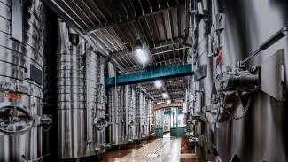 Billecart-Salmon steel tanks