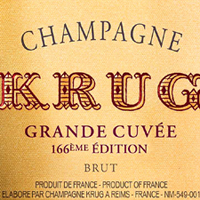 Krug Grande Cuvee 166th Edition NV