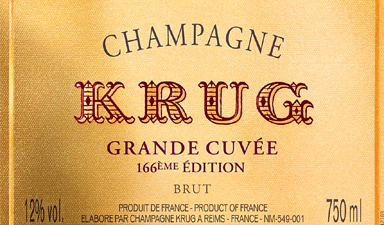 Krug Grande Cuvee 166th Edition