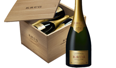 Krug Grande Cuvee Three Editions Case - Series 1