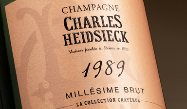 Charles Heidsieck La Collection Crayeres
