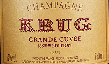 Krug Grande Cuvee 168th Edition