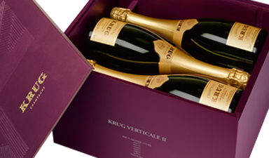Krug Grande Cuvee Vertical Edition Case 161-166