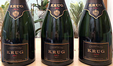 Krug Trilogy Case 2002, 2003, 2004