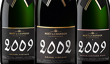 Moet & Chandon Grand Vintage 02  09' Rose 09'