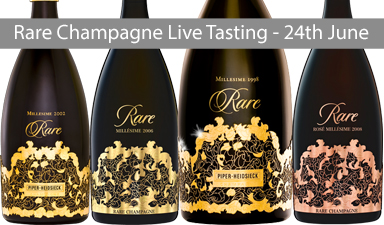 Champagne by Rare - Live Tasting
