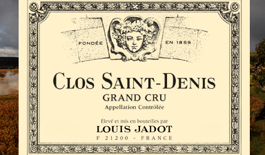 Louis Jadot Clos Saint Denis Grand Cru