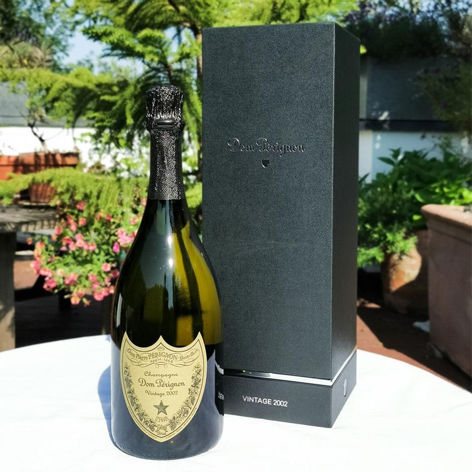 Dom Perignon 2002 75cl, 6.0L Gift Box - Buy Champagne same day 2 ...