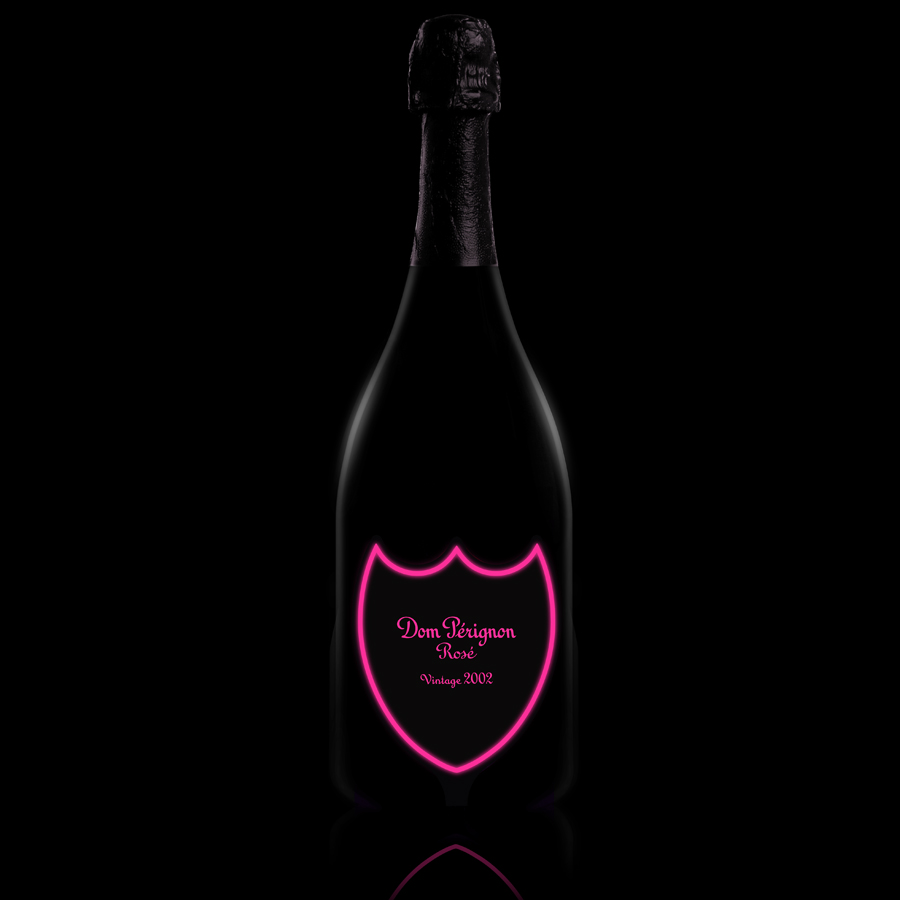Dom Pérignon Rosé Luminous Label