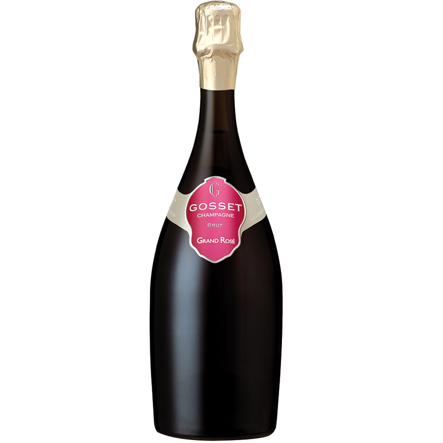 Gosset grand rose brut nv 75cl gift box buy champagne for What is rose champagne
