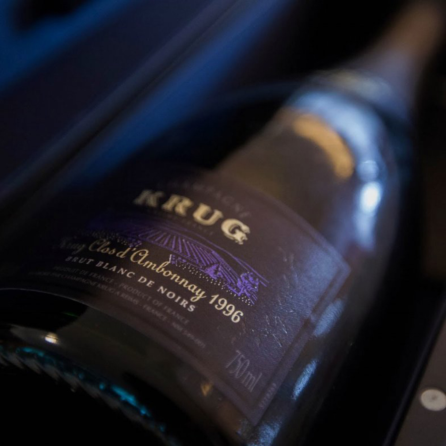 Krug Clos D Ambonnay 1996 75cl Gift Box Buy Champagne
