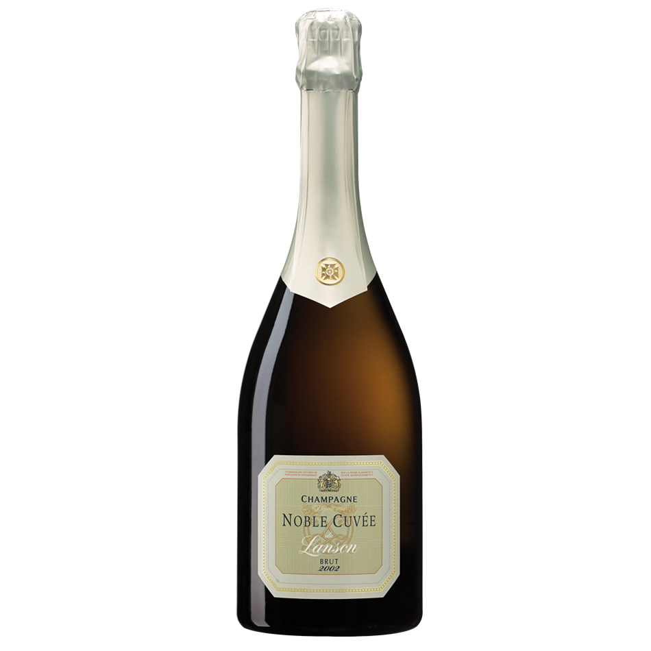 Lanson Noble Cuvee Blanc de Blancs 2002 75cl Gift Box - Buy ...