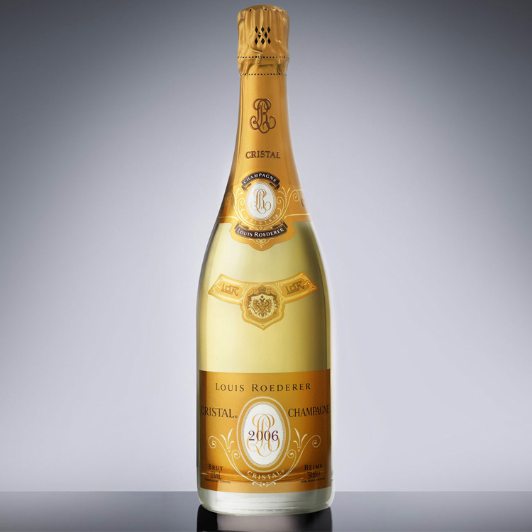 louis roederer cristal 2006 75cl gift box buy champagne same day 2 hour delivery. Black Bedroom Furniture Sets. Home Design Ideas
