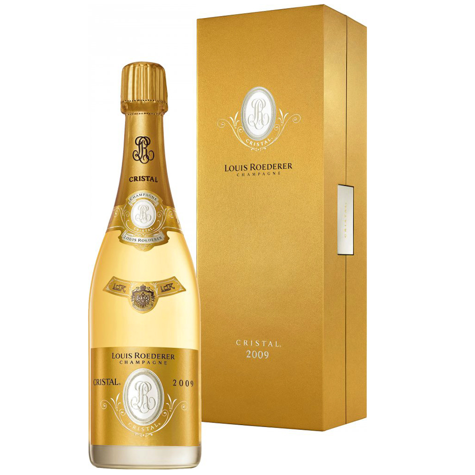 louis roederer cristal 2009 75cl gift box buy champagne same day 2 hour delivery. Black Bedroom Furniture Sets. Home Design Ideas