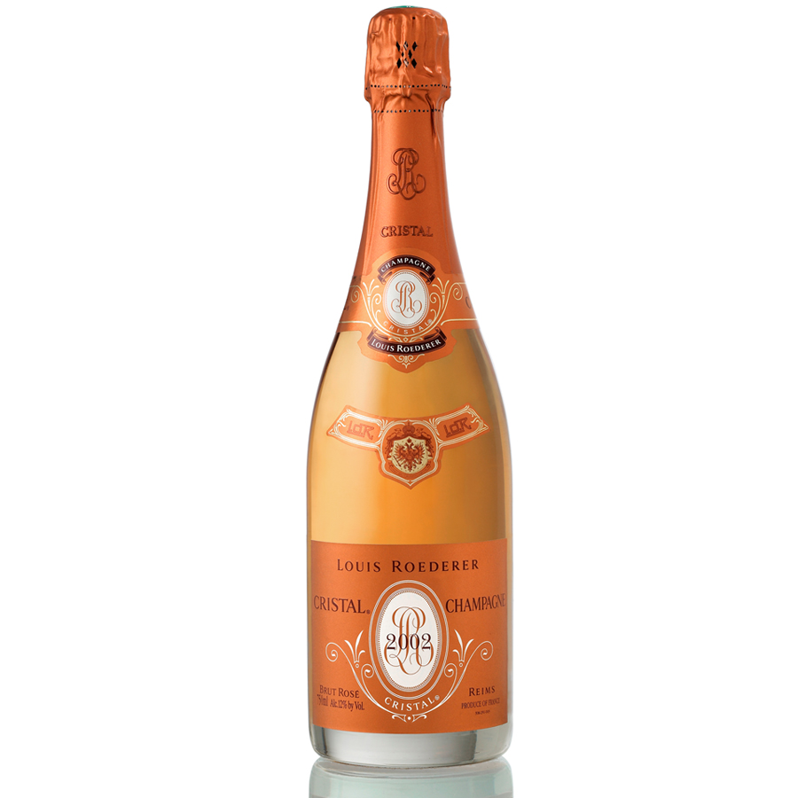 louis roederer cristal rose 2002 75cl gift box buy champagne same day 2 hour delivery. Black Bedroom Furniture Sets. Home Design Ideas