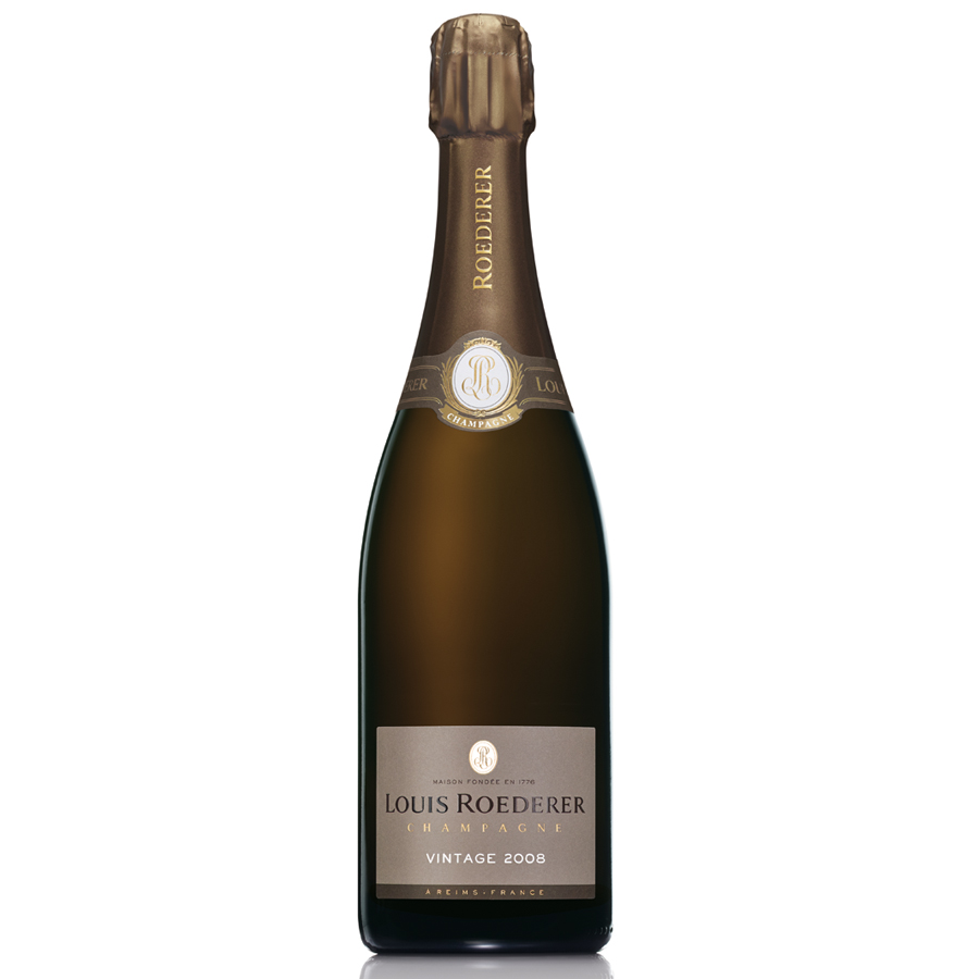 louis roederer brut vintage 2008 75cl gift box buy champagne same day 2 hour delivery. Black Bedroom Furniture Sets. Home Design Ideas