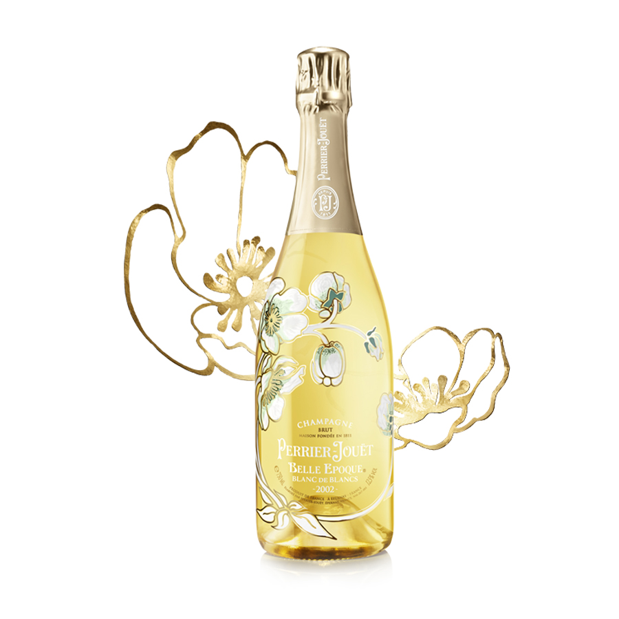 Perrier-Jouet Belle Epoque Blanc de Blancs 2002 75cl Gift Box - Buy ...
