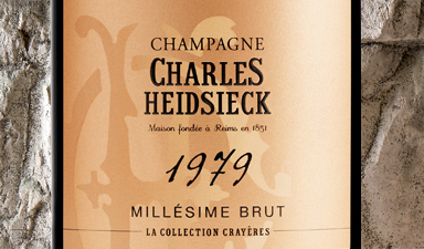 Charles Heidsieck La Collection Crayeres 1979