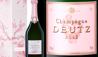 Deutz Rose Sakura Limited Edition NV