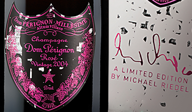 Dom Perignon Rose Michael Riedel Edition  2004