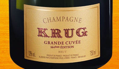 Krug Grande Cuvee 164th Edition NV