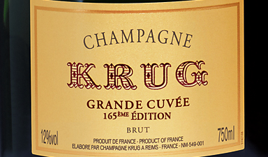 Krug Grande Cuvee 165th Edition NV