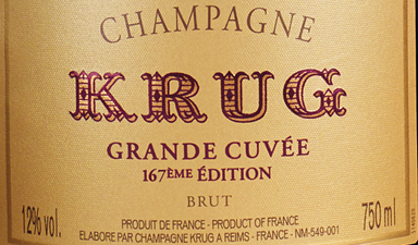 Krug Grande Cuvee 167th Edition NV