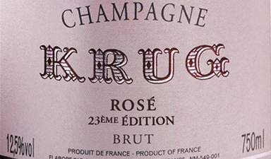 Krug Rose 23rd Edition NV