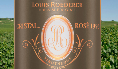 Louis Roederer Cristal Vinotheque Rose 1995