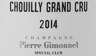 Pierre Gimonnet Chouilly Grand Cru Special Club 2014