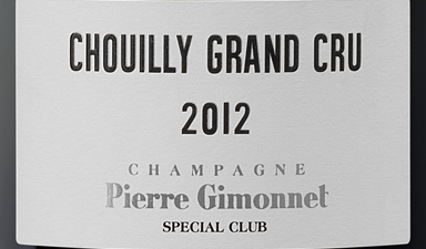 Pierre Gimonnet Chouilly Grand Cru Special Club 2012