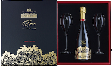 Piper-Heidsieck Rare Glass Set 2002