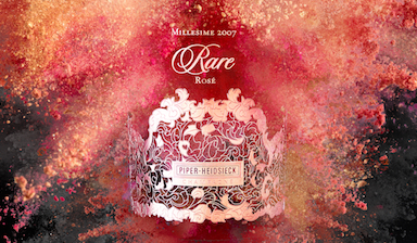 Piper-Heidsieck Rare Rose 2007