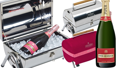 Piper-Heidsieck Cuvee Brut NV and BBQ NV