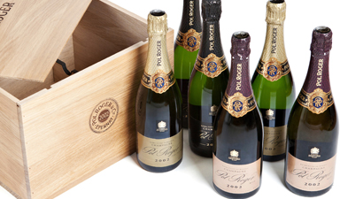 Pol Roger Collection - 6 Bottles 2002
