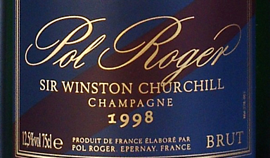 Pol Roger Sir Winston Churchill 1998