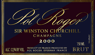 Pol Roger Sir Winston Churchill 2000