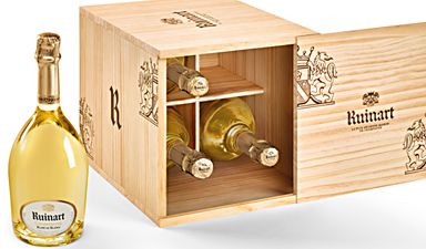 Ruinart Blanc de Blancs Wooden Case NV