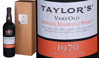 Taylor's Single Harvest Port 1970