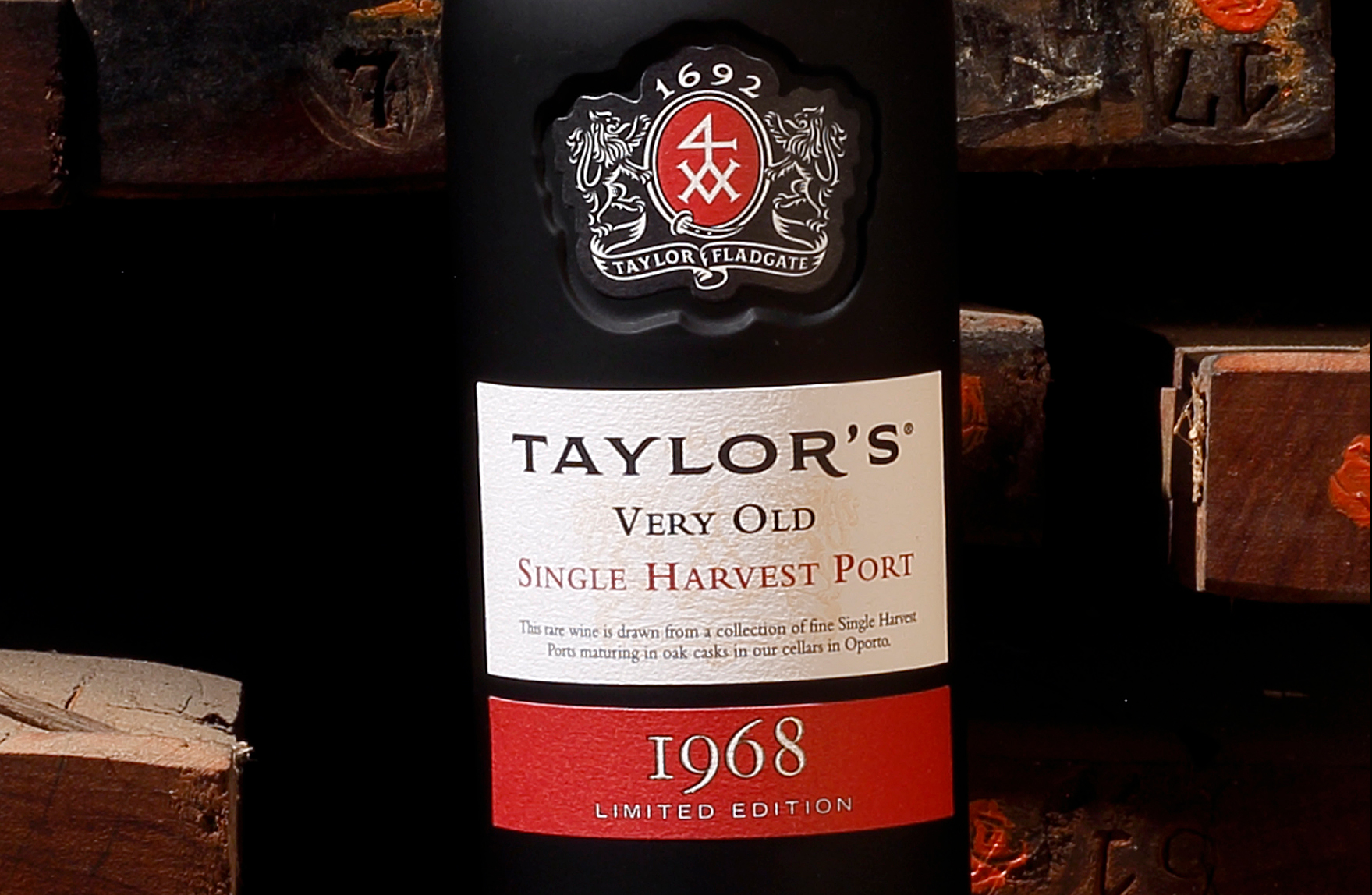 Taylor's Single Harvest Port 1968