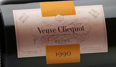 Veuve Clicquot Cave Privee Rose 1990