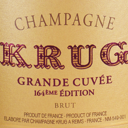 Krug Grande Cuvee Edition 164 NV