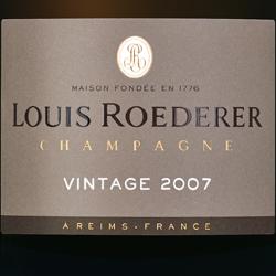 Louis Roederer Brut Vintage 2007
