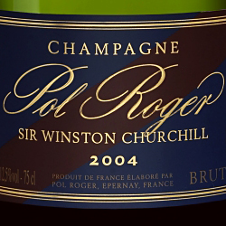Pol Roger Sir Winston Churchill 2004